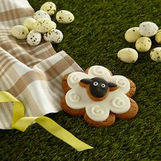Image on Food Sheep Gingerbread Biscuit, Online at johnlewis.com #Easter