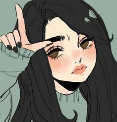 Anime Pin by Rachel Young on Photos from Cute art styles, Cartoon art, Character art Art And Illustration, Illustrations, Art Anime Fille, Anime Art Girl, Cute Art Styles, Cartoon Art Styles, Aesthetic Art, Aesthetic Anime, Aesthetic Drawing