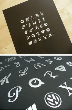 A–Z logos