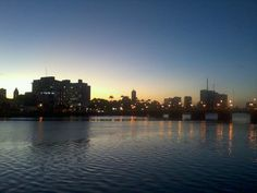 Sunset at Recife, Brazil
