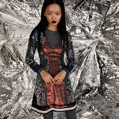 Spring Summer 2016 Prism Dress in @thekitca's April issue by @jillianvieira | Collection available at http://ift.tt/X5Gr9H by marykatrantzou