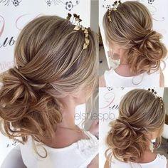 nice Half-updo, Braids, Chongos Updo Wedding Hairstyles / www.deerpearlflow......