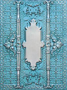 Spellbinders -  - 3D M-Bossabilities Persian Splendor  Another beautiful embossing folder!