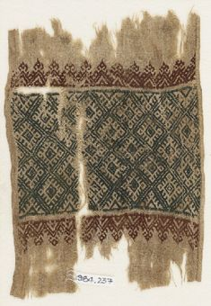 Ashmolean − Eastern Art Online, Yousef Jameel Centre for Islamic and Asian Art Fabric Painting, Fabric Art, Fabric Design, Weaving Patterns, Embroidery Patterns, Textiles, Medieval Embroidery, Tie Dye Crafts, Ancient Artifacts