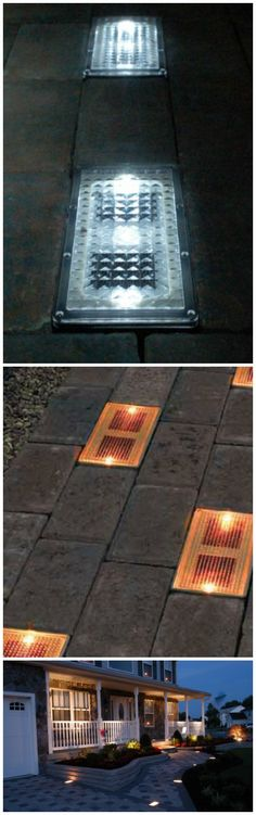 The Solar Brick Paver is a 4 x 8 inch self contained solar module system that you can easily install by digging out an existing 4 x 8 inch paver and popping in the Solar Brick Paver.