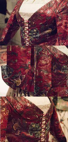 Chintz in the Fries museum – How chintz was worn | Atelier Nostalgia