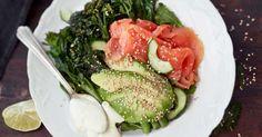 Kirjolohisalaatti ja wasabijogurtti | Salaatit | Reseptit | Reseptit ja menut | Stockmann.com