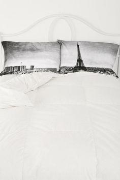Paris Panorama Pillowcase Set   #UrbanOutfitters