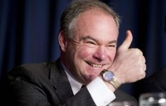 Hillary Clinton's vice presidential running mate Tim Kaine claims to be Catholic but the pro-abortion Democrat last night headlined a fundraiser For  Pro-Abortion.  What????