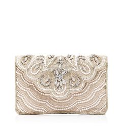 Emilie Embellished Clutch - Forever New