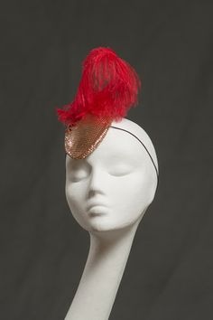 Mars Headpiece by Holly Gaiman. This will be my March Fourth Marching band costume topper.