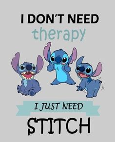 I have a stuffed animal of stich and he is my life source i love him sm