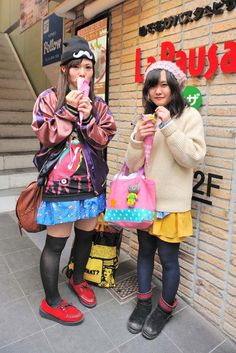 Shoppers in Tokyo's Harajuku district. [Photo by Yukie Miyazaki]