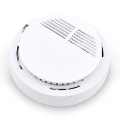 1 unids Al Por Mayor! Inalámbrico de Alta Sensible Detector de Humos de Incendio Alarma de Seguridad En El Hogar Sistema de Seguridad Independiente Sensor de Detección de Humo
