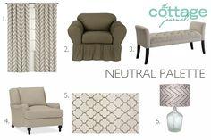 Neutral Furnishings Style Ideas