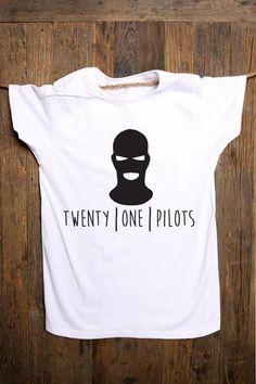 Twenty One Pilots Tshirt on Etsy, $13.99