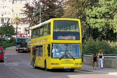 A sunny day in Bournemouth Blue Bus, Yellow Car, British Summer, Bus Coach, Mode Of Transport, Busses, Bournemouth, Sunny Days, Wales