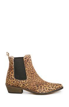 Leopard Stella Booties