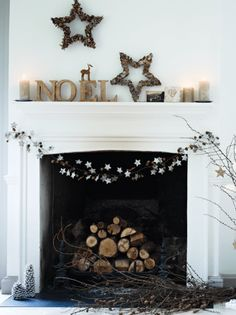 Most Adorable Christmas Fireplace Decoration Ideas 10