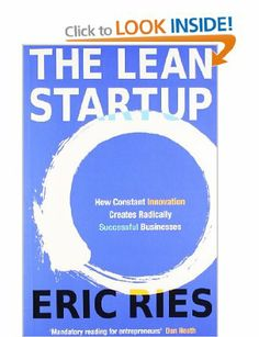 """The Lean Startup: How Constant Innovation Creates Radically Successful Businesses  """"A startup is a catalyst to transform ideas into products. Customers interact and generate feedback. For startups information is much more valuable.""""  Notes - https://docs.google.com/document/d/1Mle-CYXCWcw1nQyFtGCVjBDBN8lp29RIQi76SNAjg9g/edit?usp=sharing"""