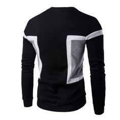 Autumn Winter Fashion Men Slim Fit Long Sleeve Tee Pullover Tops Sweater Casual Tops HOT rorh
