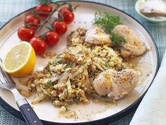 10 lättlagade middagar för dig som vill gå ner i vikt Fried Rice, Risotto, Healthy Recipes, Healthy Food, Food Porn, Food And Drink, Lunch, Diet, Chicken