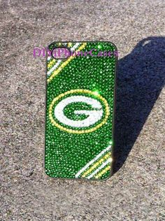 iPhone 5s Case green bay packer Bling Phone by DIYiPhoneCases