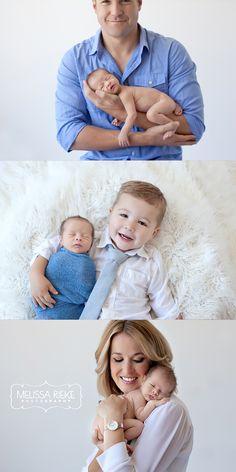 Melissa Rieke Photography | www.melissariekephotography.com | Newborn with Family | #newborn #family #photography