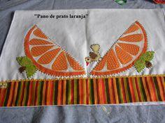 "https://flic.kr/p/dxHNb7 | ""Pano de prato laranja"""