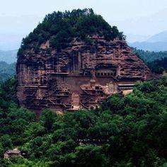 Mistik. China. Gansu Province, northwest China!