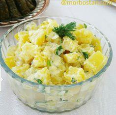 Hardal Soslu Patates Salatası; - MOR BOSTAN