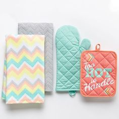 Simple by Design 4-pc. ''Too Hot To Handle'' Kitchen Towel Set
