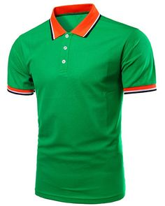 6ae211445c2 New Green Polo Men 2016 Summer Fashion Slim Fit Short Sleeve Polo Shirts  Casual Brand Solid Color Polos Cotton Polo Homme Xxxxl
