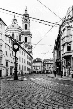 Prague In Black & White by Svanberggrath The Places Youll Go, Places To See, Prague City, Heart Of Europe, What A Wonderful World, Travel And Leisure, Adventure Is Out There, Eastern Europe, Czech Republic