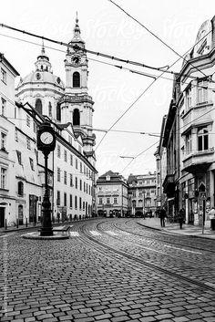 Prague In Black & White  by Svanberggrath