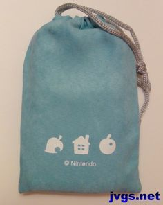 My Animal Crossing 3DS pouch from Club Nintendo.