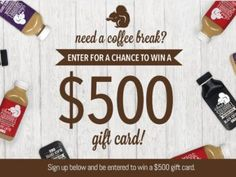 Secret Squirrel Cold Brew Coffee Sweepstakes