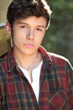 Nick Robinson -so serious but adorable
