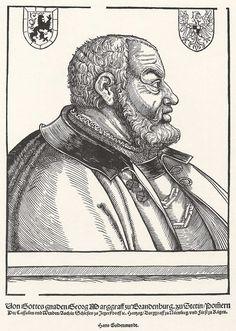 Artist: Schoen, Erhard, Title: Porträt des Markgrafen Georg von Brandenburg, Date: ca. 1535