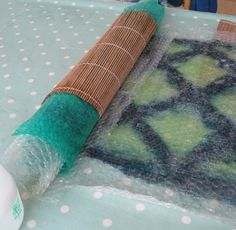 Katie Jackson Designs - Nuno felting - how it's done