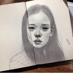 Drawing by @elfandiary