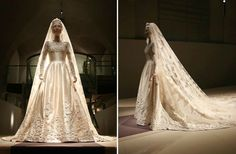 Maria Chantal's wedding gown by Valentino - MYROYALS - HOLLYWOOD: November 2012