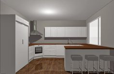 Our future kitchen shape / Sisustus ja Sepustus