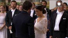 """Carlos Felipe de Suecia y Sofía Hellqvist se dan el """"sí, quiero"""" en el Palacio Real de Estocolmo"""