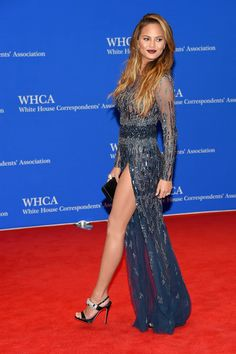 Chrissy Teigen Legend at the 2015 101st Annual White House Correspondents' Association Dinner