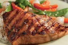 Recipe for Salmon Oriental. Add a touch of the Orient to this quick and easy dish with McCormick® Asian Seafood Sauce. Salmon Dishes, Fish Dishes, Seafood Dishes, Fish And Seafood, Seafood Recipes, Beef Recipes, Main Dishes, Cooking Recipes, Healthy Recipes