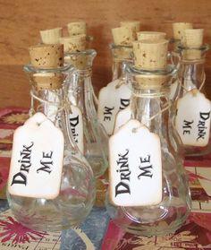 Alice in Wonderland Drink Me Bottles Girls by LilTurnipDesigns, $30.00