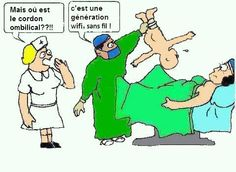 """Humor to start the new week! Luckily we don't use any such """"wireless technology therapy"""" and provide """"hands on"""" one-on-one Medical Humor, Nurse Humor, Funny Cute, The Funny, Dry Sense Of Humor, Arabic Jokes, Meme Pictures, Funny Picture Quotes, I Love To Laugh"""