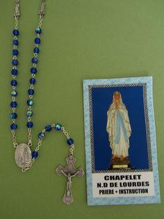 Chapelet Notre Dame de Lourdes