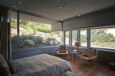 Image 59 of 66 from gallery of Atalaya House / Alberto Kalach. Photograph by Yoshihiro Koitani California Homes, Modern House Design, Bedroom Wall, My Dream Home, Architecture Design, Contemporary, Interior Design, Interiors, Home Decor